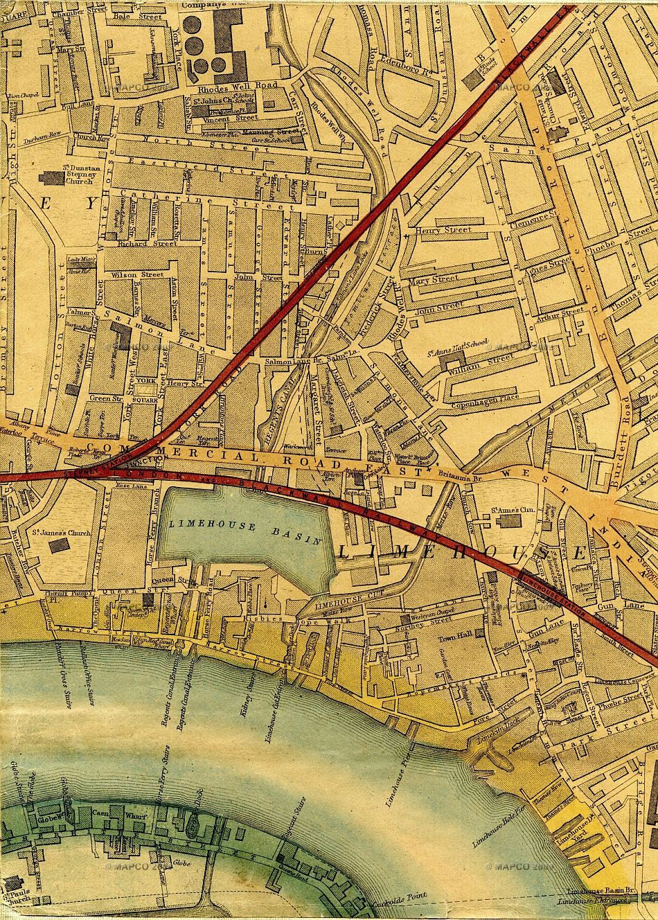 Map Of London 1868, By Edward Weller, F.R.G.S.